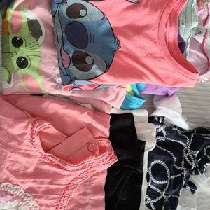 Bundle of t-shirts, camisoles & tank tops